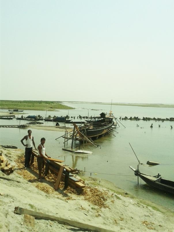 Brahmaputra- boat making