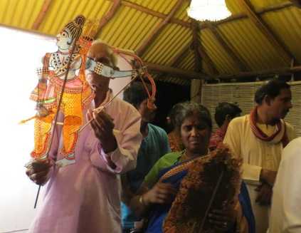 Puppeteers of Hampi