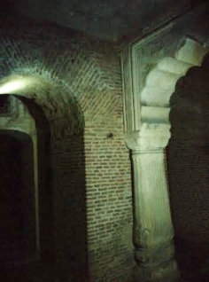 Basement of the palace