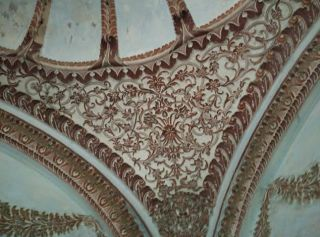 Decor in Samru's hamam -1