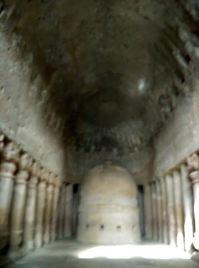 Inside caves- Kanheri-3