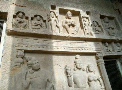 Inside caves- Kanheri