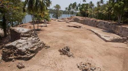 Ancient port city on Indian Ocean