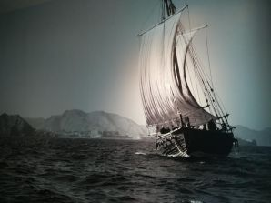 Image of ship sailing