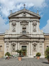 church of Gesu- Italy, the 1st Baroque Facade