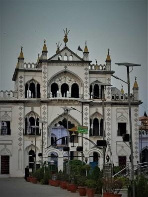 Entry to Chota Imambara Lucknow